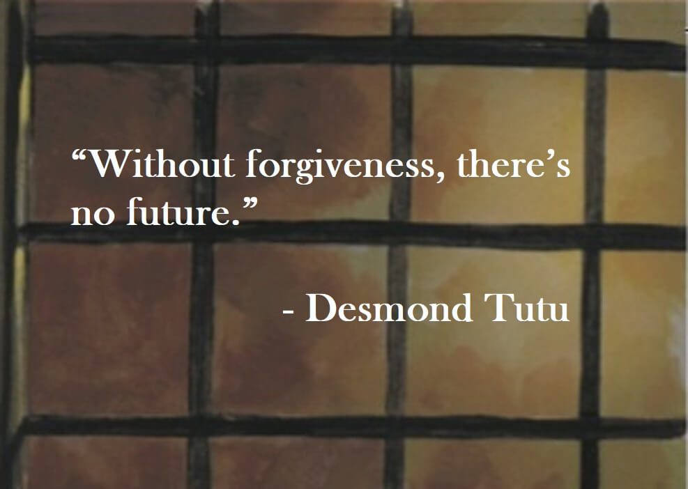 Desmond Tutu Quote on Hoist Point - Without forgiveness, there's no future.