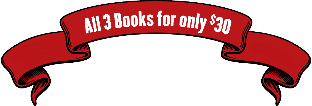 Buy All 3 Books for $30